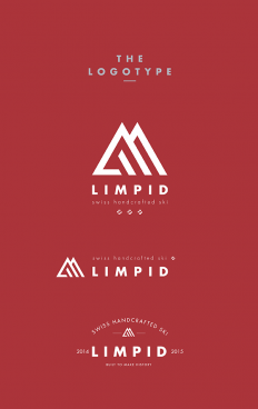 LIMPID Skis - Logo and Brand Identity