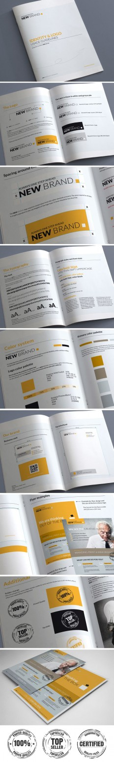 Brand Guidelines – 20 Pages on Inspirationde
