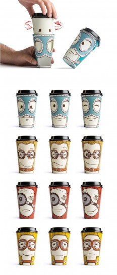 Take Away Coffee Cup — The Dieline