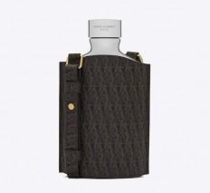 Saint Laurent Unveils Classic Toile Monogram Flask - Luxuryes