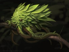 Leaf Octopus by AlexKonstad on DeviantArt