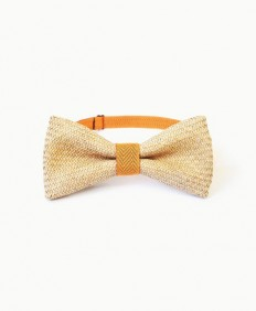 A.M IDEAS - Rush Grass Bow Tie - Orange