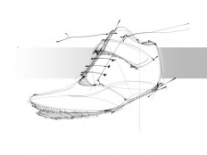 (georgeesound: Shoe design / Sketch #1)