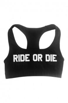 Ride Or Die Sports Bra | Jawbreaking