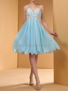 Blue Prom Dresses, Shop Prom Gowns in Tiffany, Teal at Dressestylist