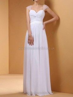 White Prom Dresses, White Formal Evening Gowns UK, Dressestylist