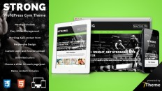 Strong - WordPress Gym and Sport Theme