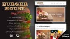 Burgerhouse - a premium Restaurant WordPress Theme