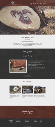 Homepage design for BHE on Inspirationde