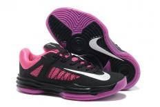 Women Nike Hyperdunk X 2012 Black/Pink/White Basketball Sneaker
