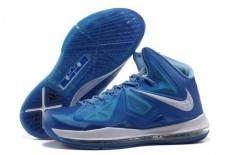 Air Max Lebron X Blue Diamond Sapphire Mens Shoes