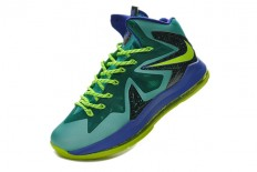 Nike LeBron X P.S Elite Sport Turquoise Volt Men Shoes