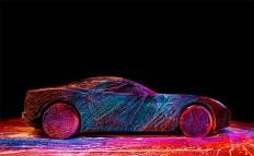 Ferrari + Fabian Oefner: The Performance | Inspiration Grid | Design Inspiration