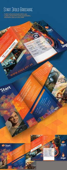 Start, 3Fold Brochure on