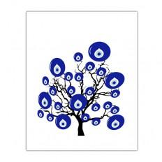 evil eye bead wall art tree turkish decor turkish evil by gonulk