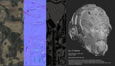 ArtStation - Sci- Fi Helmet, Vivek Shinde