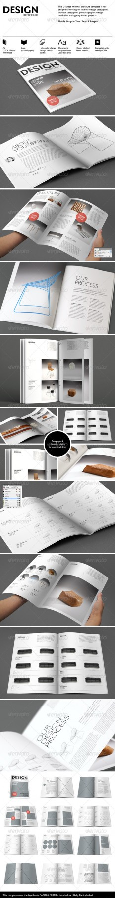 Interiors Brochure | GraphicRiver