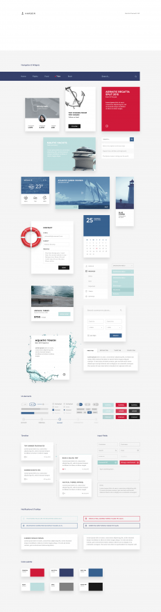 harbor-ui-kit-all-elements-preview.png by Erigon