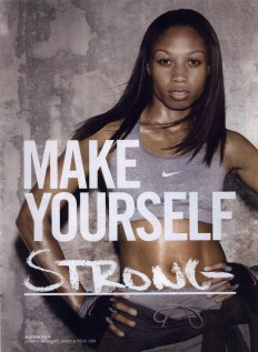 Nike Women Ad Campaign Fall/Winter 2010 Shot #1 - MyFDB