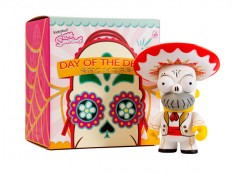 "The Simpsons x Kidrobot ""Day of the Dead Homer"" Mariachi Vinyl Figure 