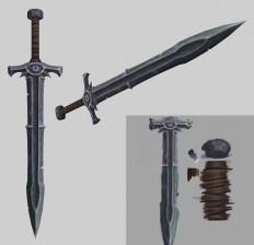 23 swords - Polycount Forum