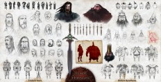 ArtStation - ASOIAF, Ned & Robert, Joshua Brian Smith