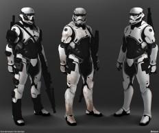 ArtStation - Stormtrooper Elite Concept, Moh Z. Mukhtar