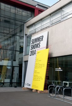 LCC Summer Shows 2014 - Fonts In Use