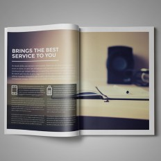 Design Marketing Brochure / A4 and US Letter on