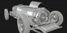 """Streamside AR8"" - fictional vintage race car (with Unity webplayer) - Polycount Forum"