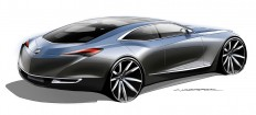 Buick Avenir Concept Design Sketch - Car Body Design