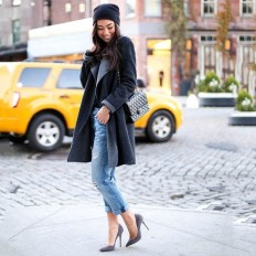 The Fling Super Luxe Destroy Repair Jeans by Current/Elliott on Inspirationde