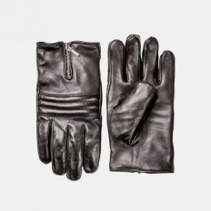 Russel Black Leather Gloves by Hestra on Inspirationde