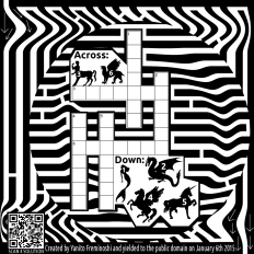 Mythical Crossword Maze - British Online Casinos | British Online Casinos