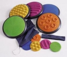 Fancy - Tactile Discs - Occupational Therapy Tactile Discs for Autism & Sensor...