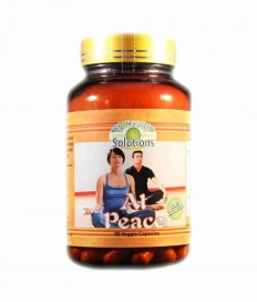 Amazon.com: At Peace Herbal Extracts 60 Veggie Capsules for Calm, Cheerful Mood and Clear Mental Focus: Health & Personal Care