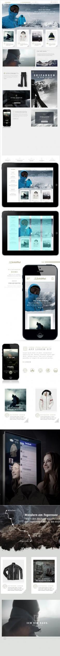 Schöffel Website & App on