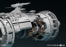 ArtStation - Fractured Space - NASA Flaghsip, karakter design studio