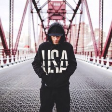 USA Sport Hoodie by 10 Deep on Inspirationde