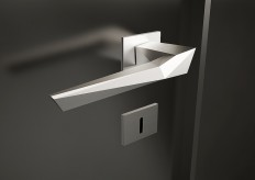 *origami* door handle | studioforma | Product DESIGN | Pinterest
