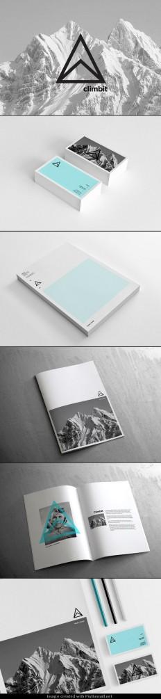 Climbit branding | Branding | Pinterest