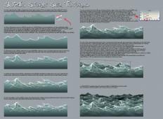 Stormy Sea Tutorial by suzidragonlady on DeviantArt