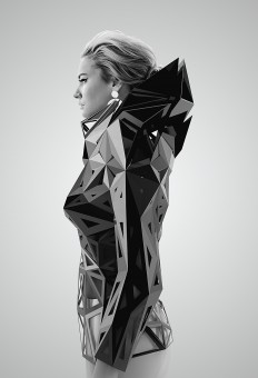 parametric architectural techniques in clothing on Inspirationde