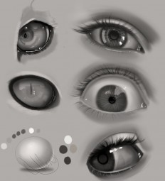 Eye Practice by gerakun87 on DeviantArt