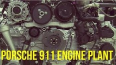 Porsche 911 Engine Plant Assembly Line - YouTube
