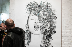 Exploding face (2014) on Inspirationde