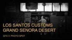 GTA V Photo Spot: Los Santos Customs, Grand Senora Desert - YouTube