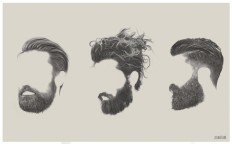 More ghostly beards, beards and beards. on Inspirationde
