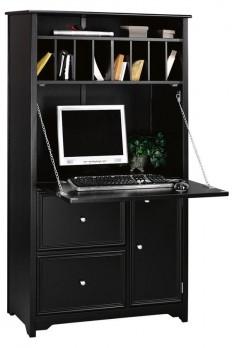 Oxford Tall Secretary Desk - Secretary Desks - Home Office Furniture - Furniture | HomeDecorators.com