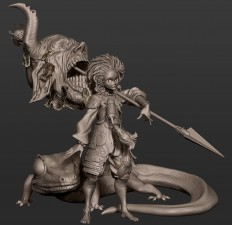 ArtStation - Fan art based on a concept from Ham Sung-choul, Rodrigue Pralier